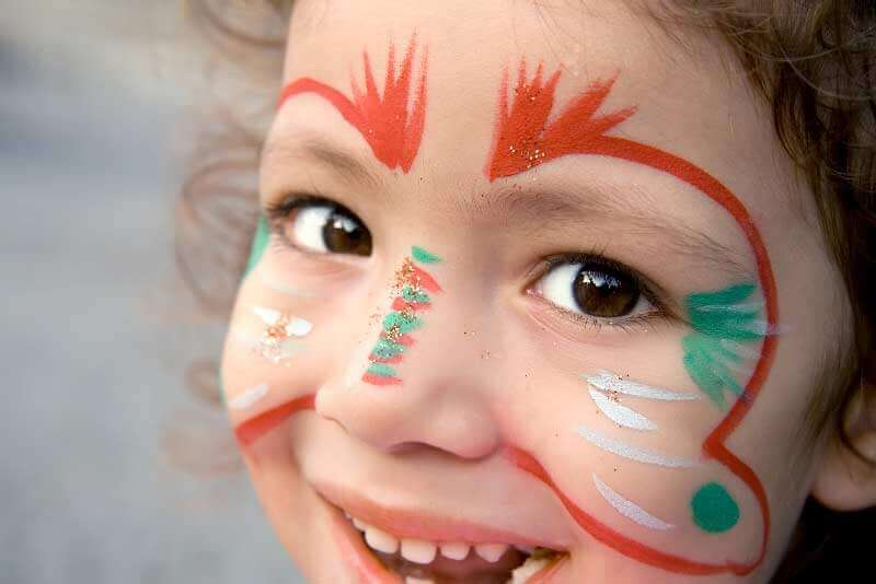Community-Girl-With-Face-Paint