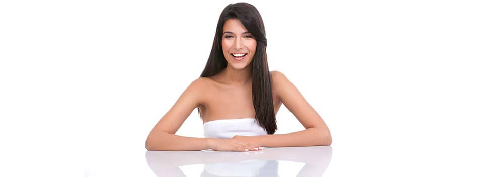 Woman Smiling Slider